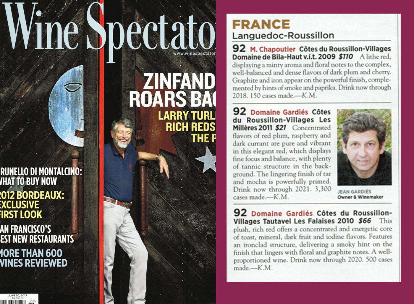 Wine Spectator - June 2013